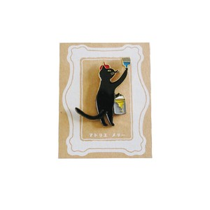 Atelier Merry pin Badge cat