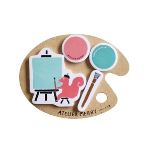 Atelier Merry Pallet Sticky Note Squirrel