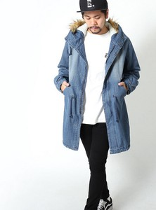 A/W Men's Fur Attached Mod Coat