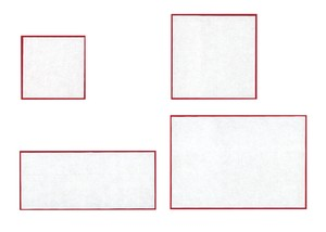 Comprehension Red And White Square
