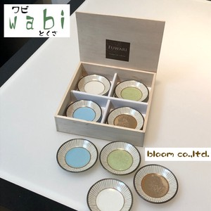 [2019NewItem] Tokusa Mini Dish Wood Boxed Mino Ware