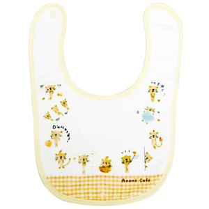 Baby Meow Bib Yellow