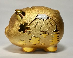 Happiness Ornament Interior Japan pig Piggy Bank