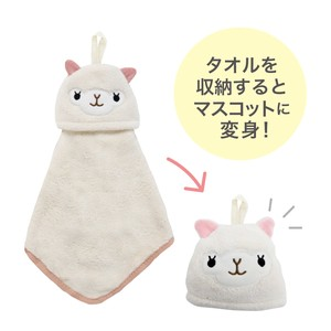 Animal Towel Mascot Alpaca Petit Gift