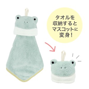 Animal Towel Mascot Frog Petit Gift
