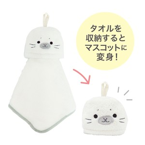 Animal Towel Mascot Seals Petit Gift