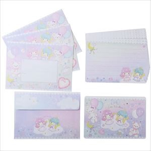 Miki Takei Little Twin Star Writing Papers & Envelope Fantasy