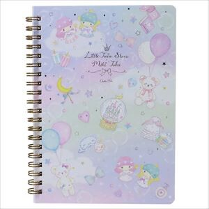 Miki Takei Little Twin Star Double Ring Notebook Fantasy