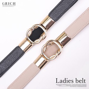 A/W Belt Fancy Goods Gold Ring Elastic Belt Easy