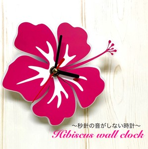 Hibiscus Wall Hanging Product Clock/Watch Continuous [ 2020NewItem ]