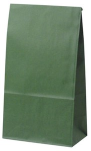 Gift Bag Bags with Square-cornered Emerald 50mm 90mm