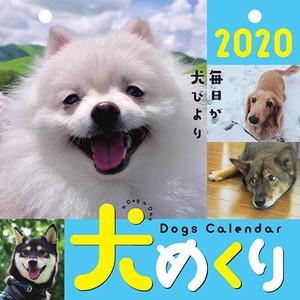 【中央経済社】カレンダー 2020年 犬めくり 日めくり