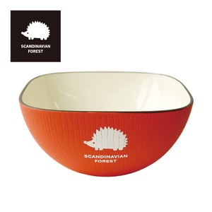 SCANDINABIAN FOREST Bowl Red
