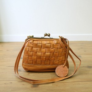 Leather Coin Purse Mesh Shoulder Bag