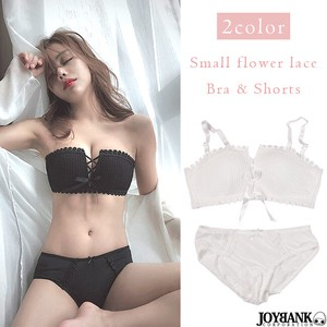 Lace Flower Shorts Set Brush Undergarment Inner