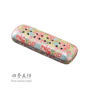 Incense Stick Type Arita Ware Four Seasons Yuzen Incense Stick Plate