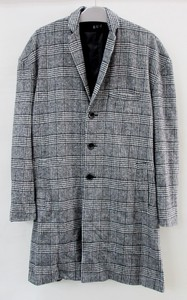 Checkered Big Chesterfield Coat