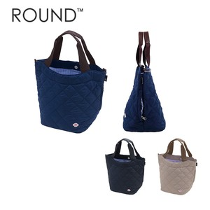 Tote Bag Round Diamond Quilt