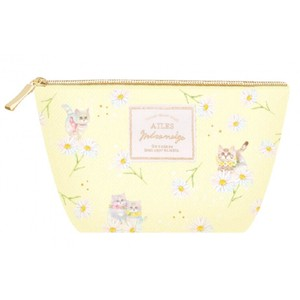 Pouch Little Kitty Yellow