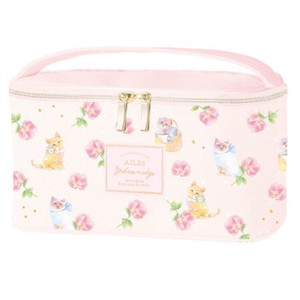 Vanity Pouch Little Kitty Pink