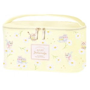 Vanity Pouch Little Kitty Yellow