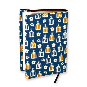 Retro Komon Hand Towel Book Cover Small Birds Roddy
