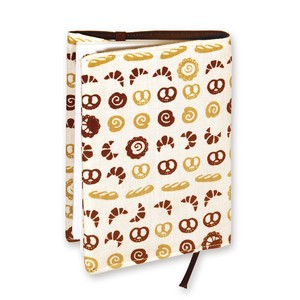 Retro Komon Hand Towel Book Cover Grilled Stand Up How