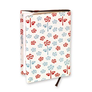Retro Komon Hand Towel Book Cover Rose