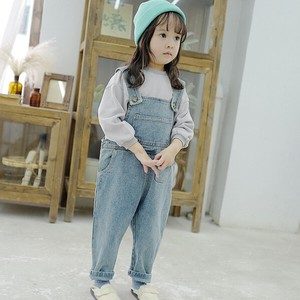 Children's Clothing Overall Denim Kids Casual Korea