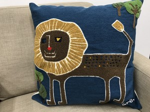 Plune Cushion Cover LION Scandinavian Style Design