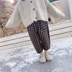 Children's Clothing Pants Checkered Kids Casual Korea