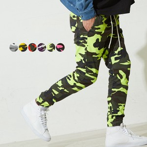 A/W New Color Neon Color Men's Stretch Camouflage Pants