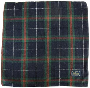 Cushion Cover Tartan Green