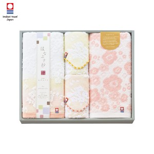 Towel Imabari Face Mini Towel Set Pink