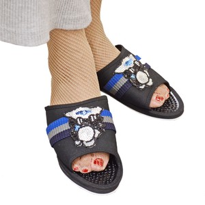 GRAN DECO Owl Ribbon Line Health Sandal Animal Shoes Ladies
