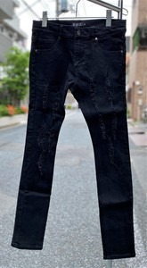 Men's Damage Skinny Pants