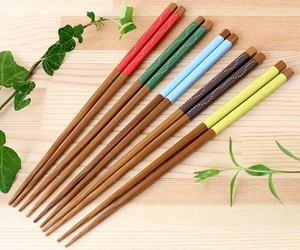 Wash In The Dishwasher Pastel Dot Chopstick 5 Colors Full Length Pastel Color Dot Dot Cafe