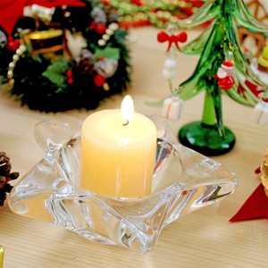 Star Candle Holder 1 Pc Glass Candle Candle Holder Star Interior
