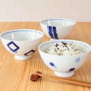 HASAMI Ware Rice Bowl Ceramic HASAMI Ware Rice Bowl Japanese Rice Bowl Rice