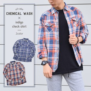 A/W Indigo Checkered Shirt