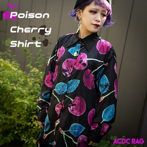 Cherry Shirt Punk Mode Cherry Cherry Pink