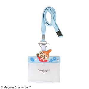 Little My The Moomins Name Holder Light blue