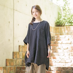 [2019NewItem] Double Gauze Needlework Dolman Big Pullover