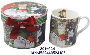 Christmas Box Attached Mug