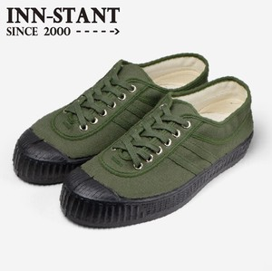 INN-STANT CANVAS SHOES-NEO #814 KHAKI/KHAKI(BLACK SOLE)