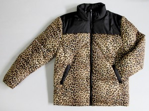 2018 A/W Men's Leopard Switching Padding Jacket
