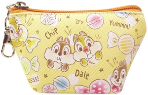 Disney Triangle Mini Pouch Chip 'n Dale