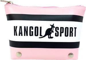 Sport Pastel Tricolor Triangle Pouch Pink