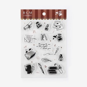 Clear Stamp Letter