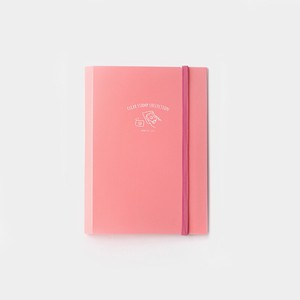 20 BGN Clear Stamp File Pink Pocket